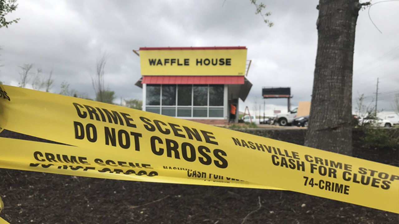 911 center releases details on deadly Waffle House shooting