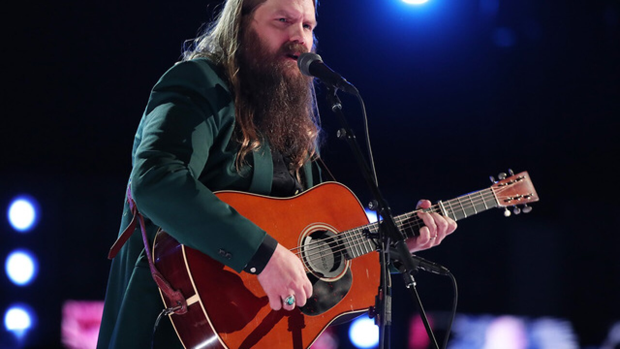 Country star Chris Stapleton announces show at Pepsi Center in Denver