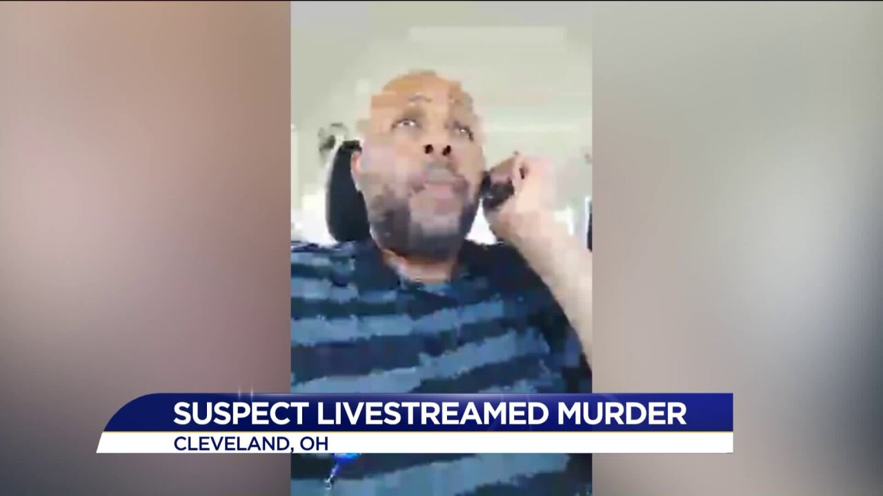Cleveland police release photo of suspect wanted in murder shown live onFacebook
