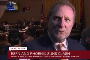 Phoenix Suns owner Robert Sarver responds to potential allegations of sex harassment, racism