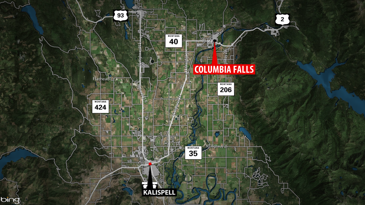 Columbia Falls House Fire