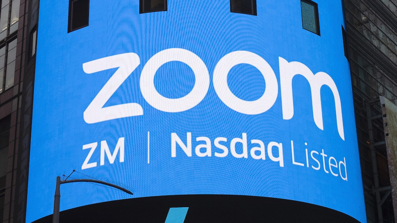 Zoom logo meeting