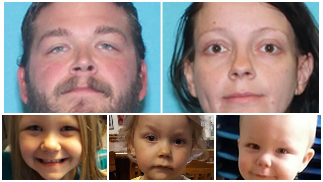Amber Alert issued for three Montana children 'believed to be in life threatening danger'
