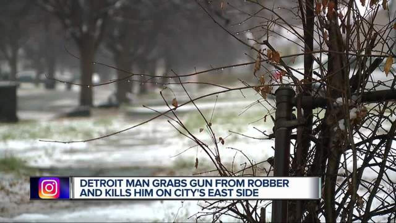 Armed robber shot, killed with own gun