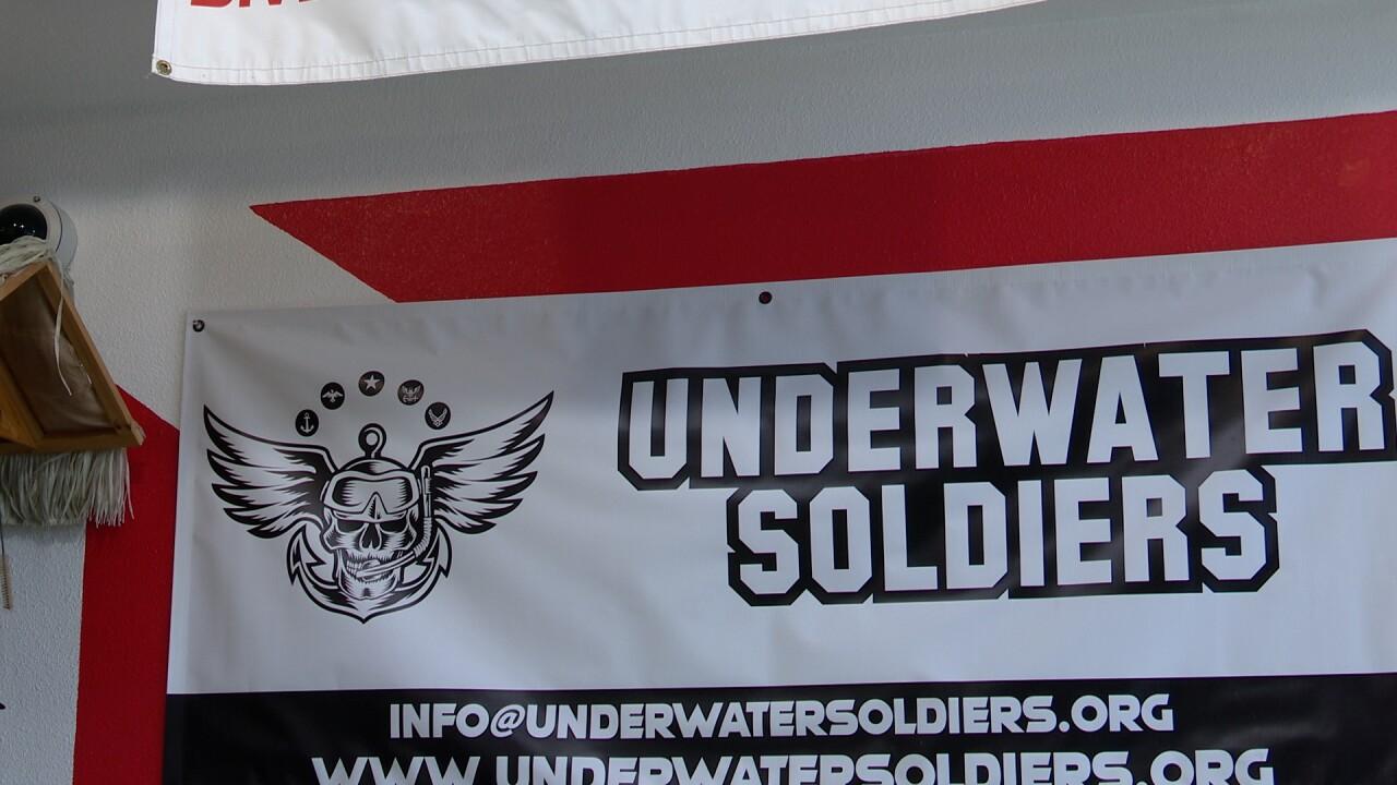 Underwater Soldiers