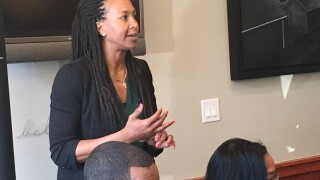 PHOTOS: Tamika Catchings hosts grand opening of tea shop