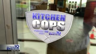 Two restaurants received perfect scores in this week's Kitchen Cops.