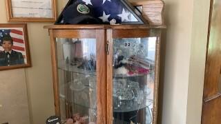 Damaged Curio Cabinet