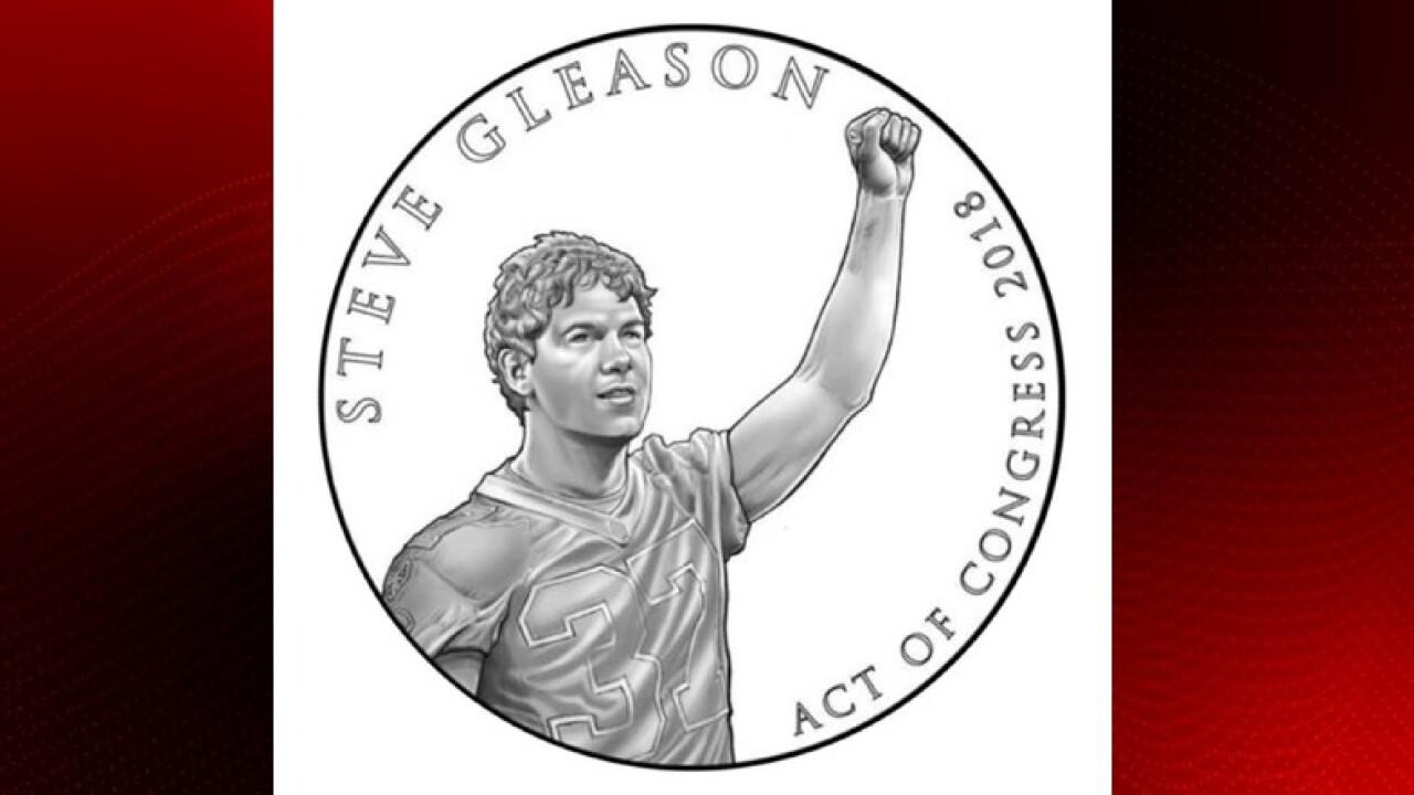 Steve Gleason congressional medal