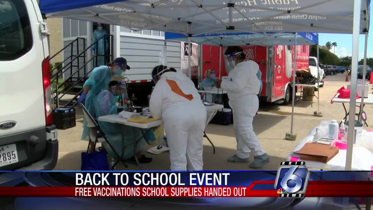 Free vaccinations, school supplies provided by LEAD First