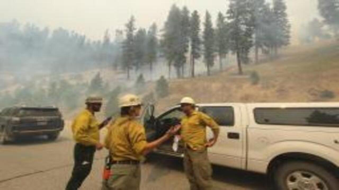 Warmer weather may increase fire activity