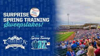 Surprise Spring Training Sweepstakes