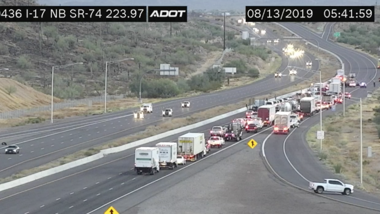 I-17 SR 74 wrong way