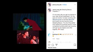 'Sleeping Beauty' proposal: Man animates himself, girlfriend into Disney film to pop the big question