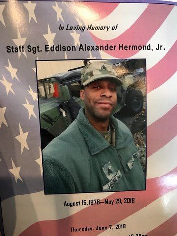 Remember National Guard Eddison Hermond