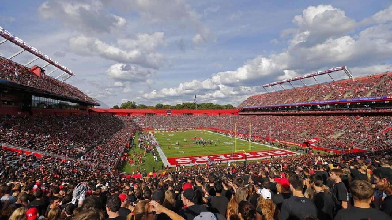 WATCH: Five-year-old's 93-yard TD run in Rutgers spring game