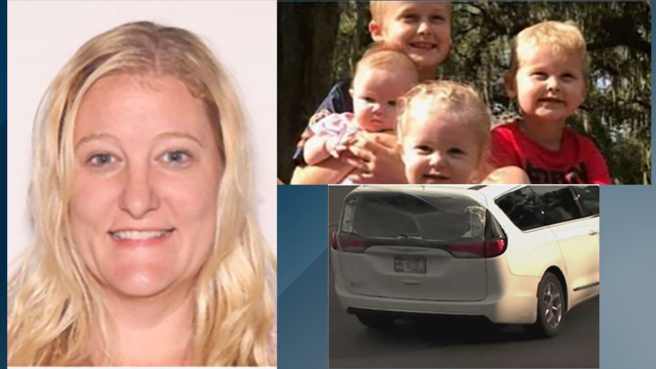 A missing Florida mother was found dead and her 4 children are still missing