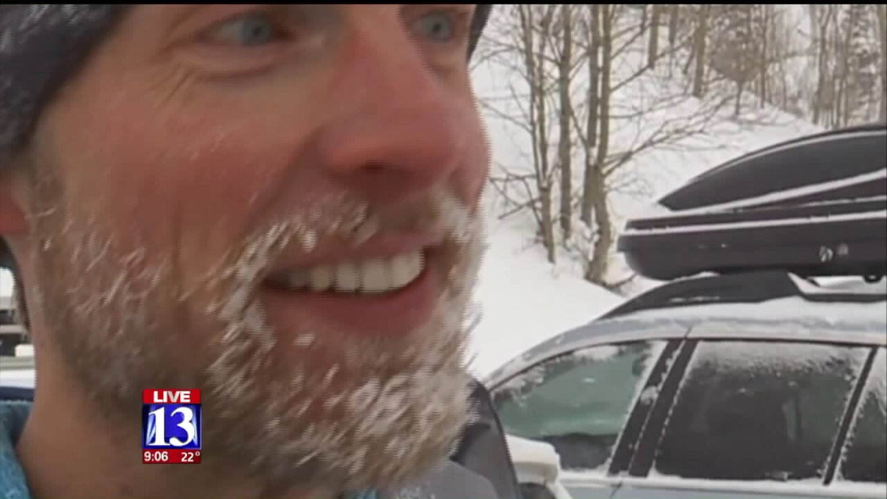 Backcountry fans thrilled as snow arrives in Utah; avalanche danger moderate toconsiderable