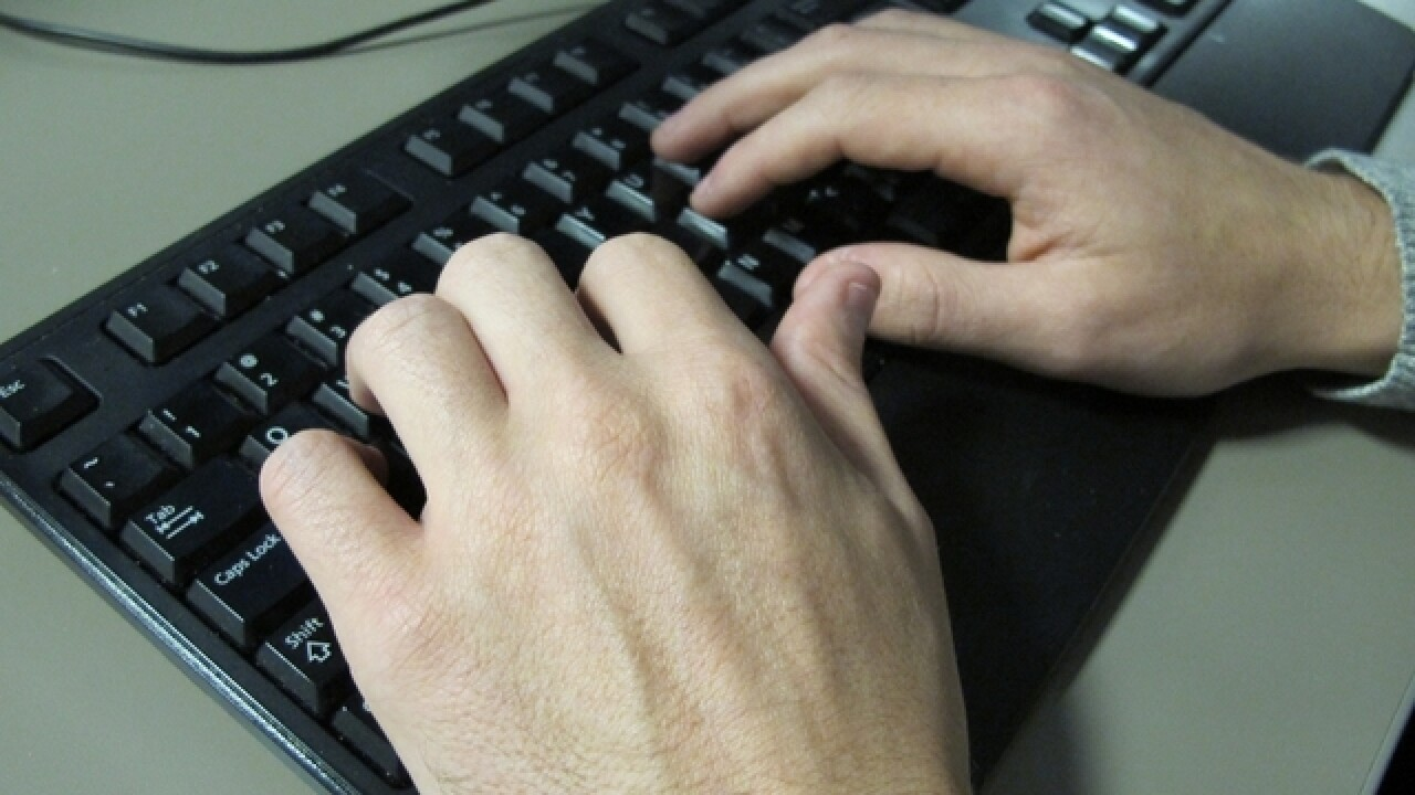 State employee mistakenly distributes porn link
