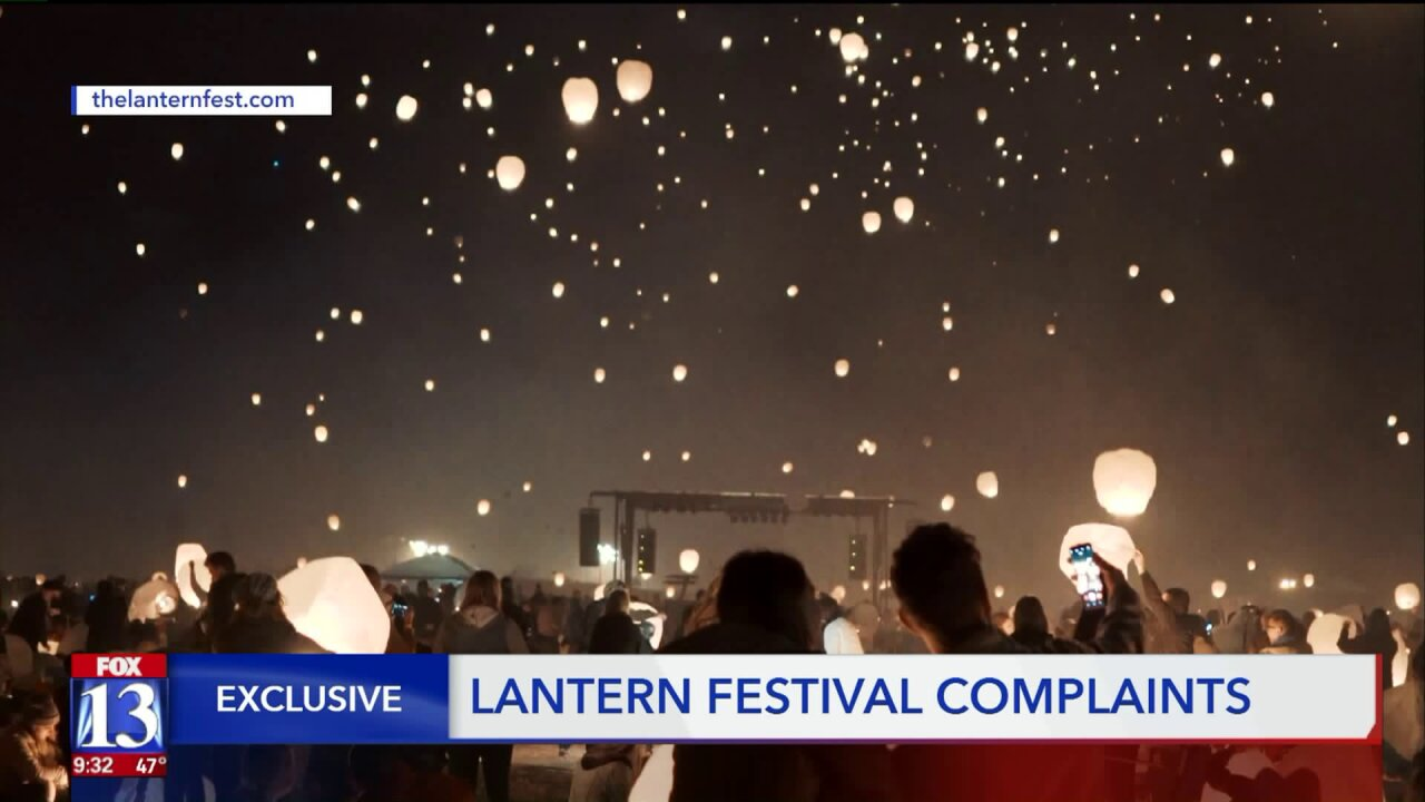 'The Lantern Fest' accused of scamming Utahcustomers