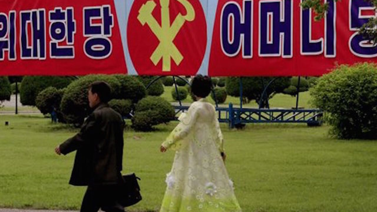 N. Korea prepping for demonstration