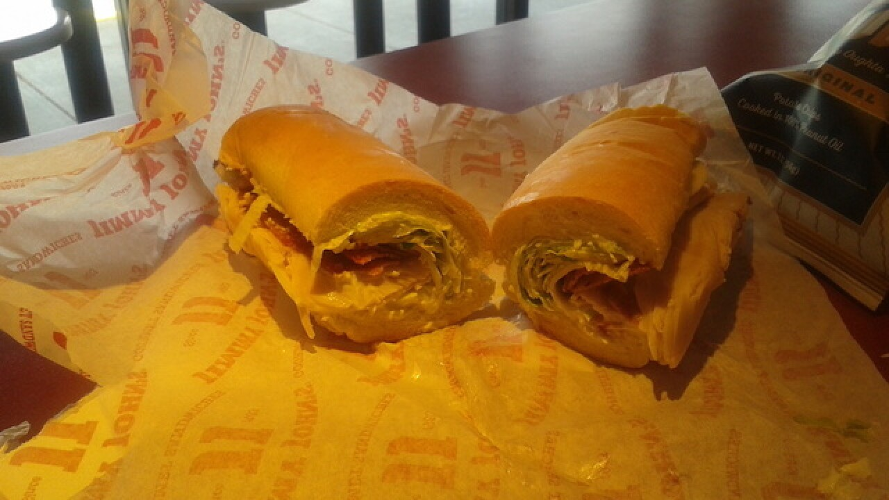 This Jimmy John's delivered more than a sandwich. It took an ill vet to the ER