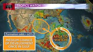 Watching for potential tropical development in the Gulf