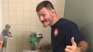 Stipe Miocic Valley View Fire Department