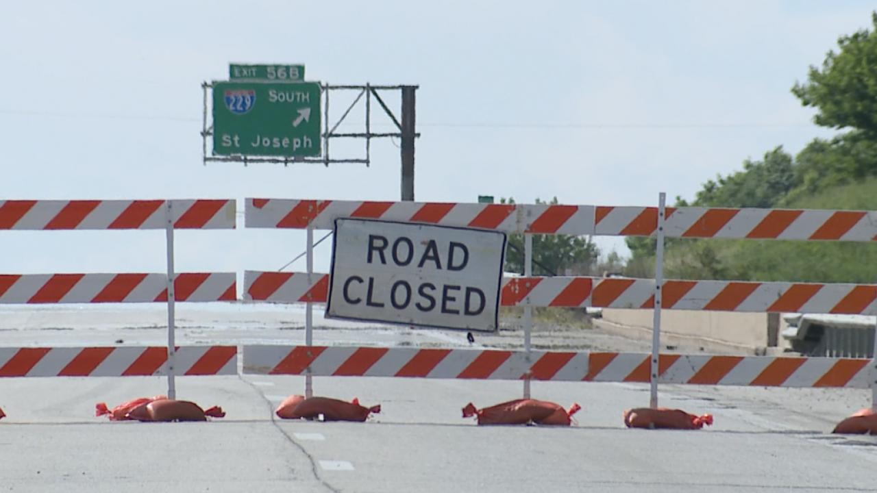 I-29 closed