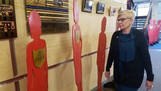 Silent witness exhibit somber reminder of what's been lost to domestic violence