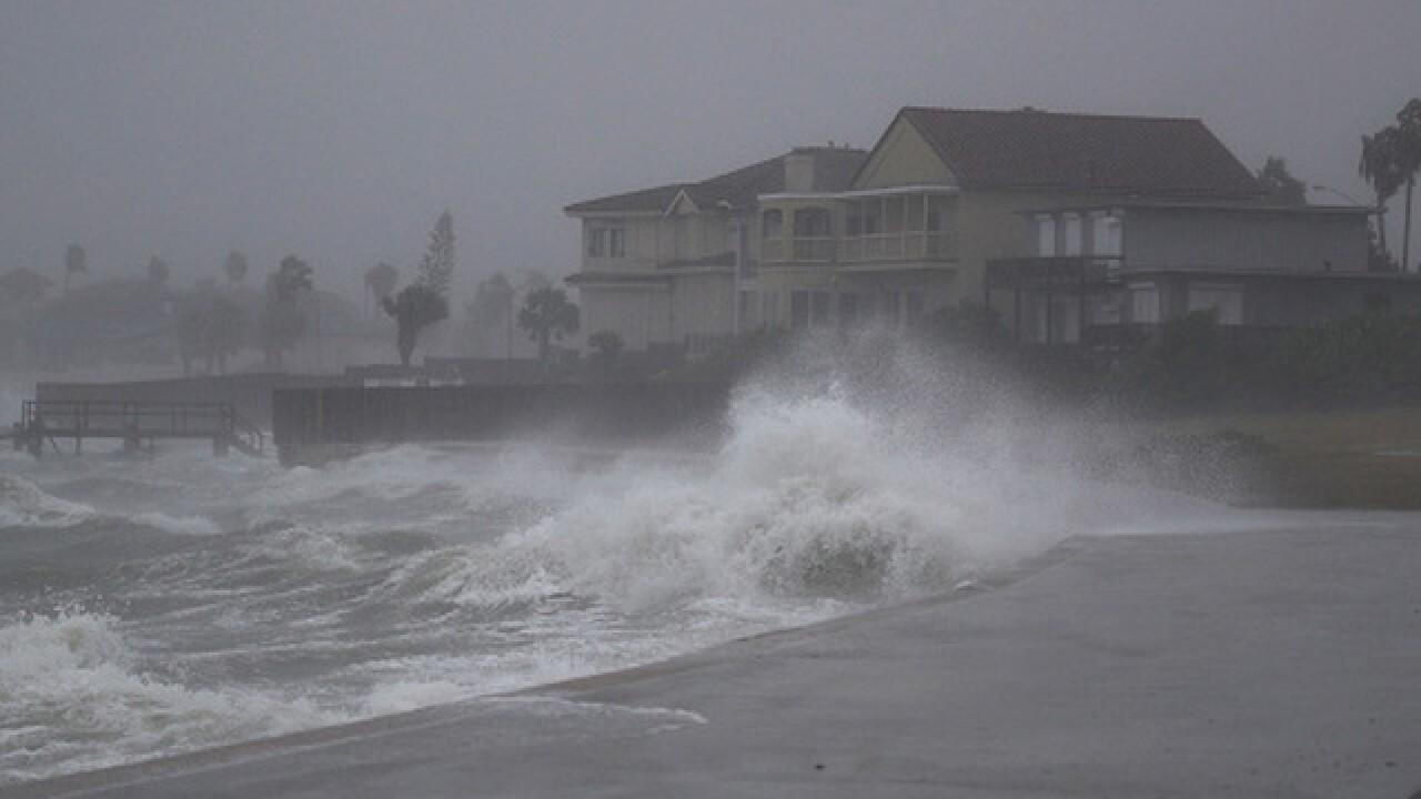 Hurricane Harvey strengthens to Category 3