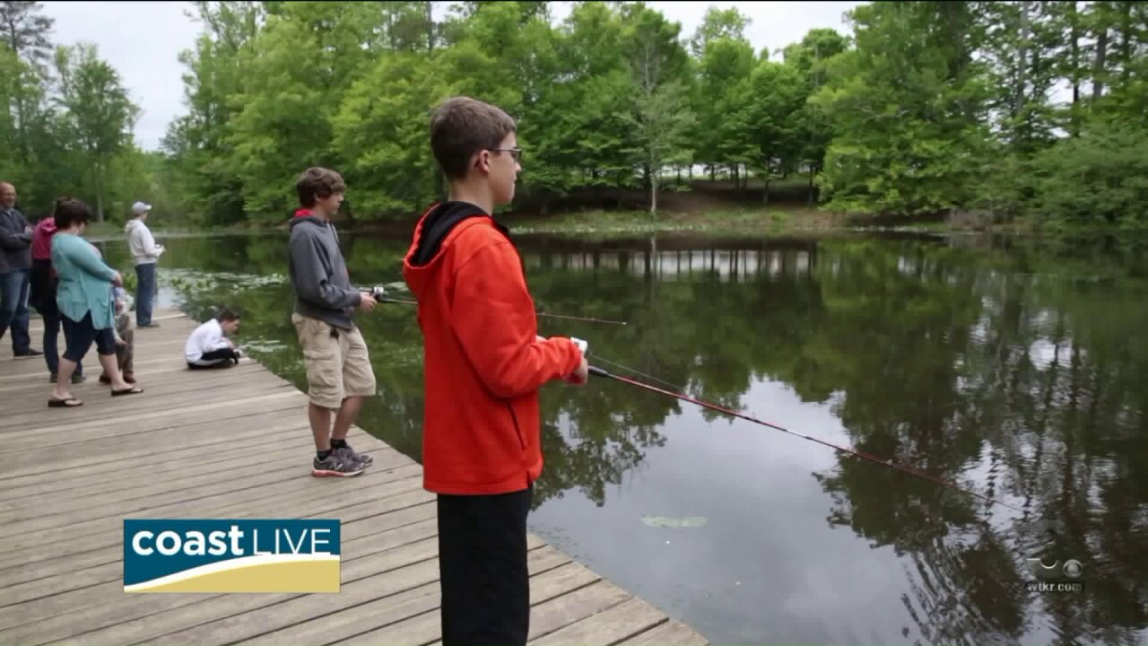 A celebration on the Appomattox River on Coast Live