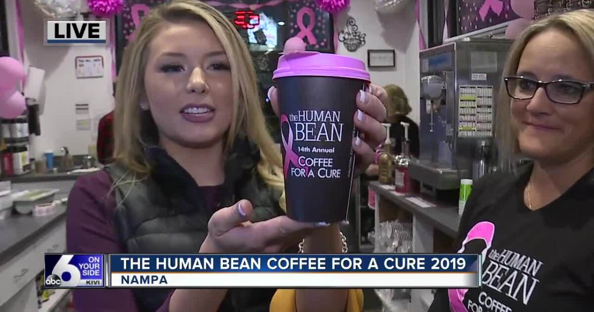 The Human Bean hosting Coffee for a Cure today