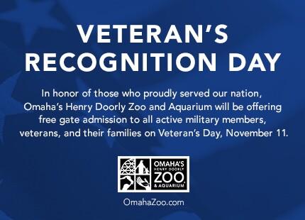 Veterans Day at Henry Doorly Zoo