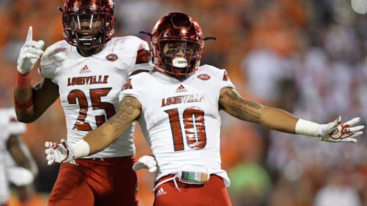 New Green Bay Packers draft pick Jaire Alexander shows off his touchdown celebration dance