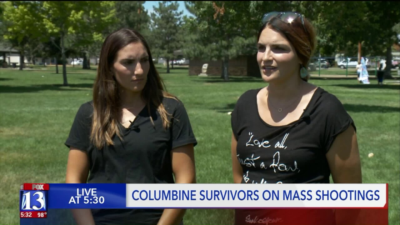 Sisters who survived Columbine react to mass shootings