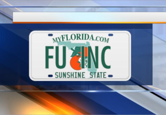 PHOTOS: Vanity license plates denied in Florida in 2017