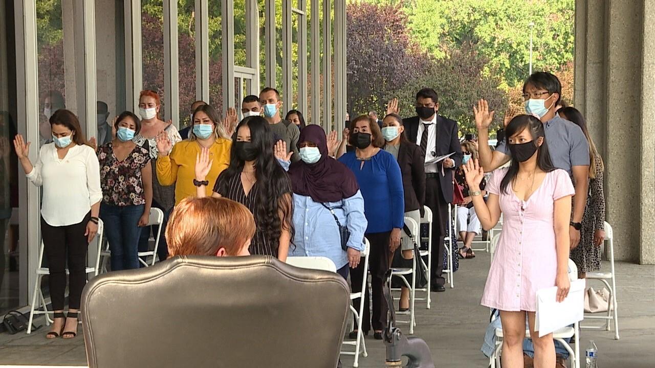 Naturalization Ceremony in Boise