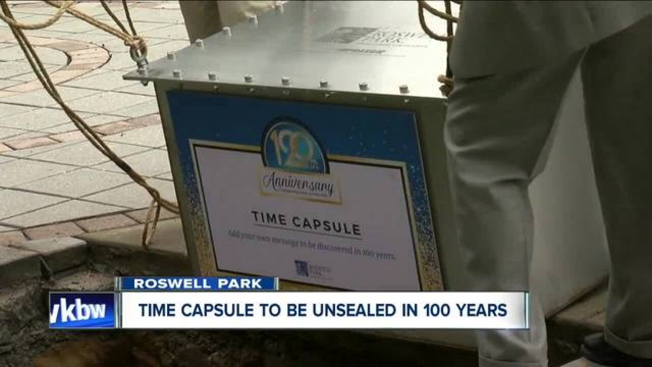 Roswell Park marks 120 years with time capsule