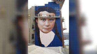 Greta Thunberg Mural