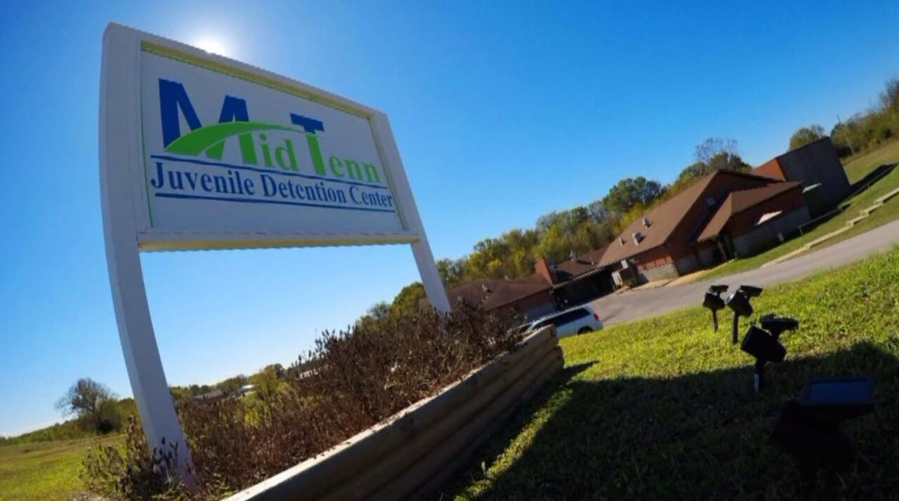 Middle Tennessee Juvenile Dentention Center sign.jpg