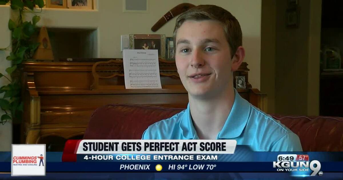 Marana HS student gets perfect ACT score