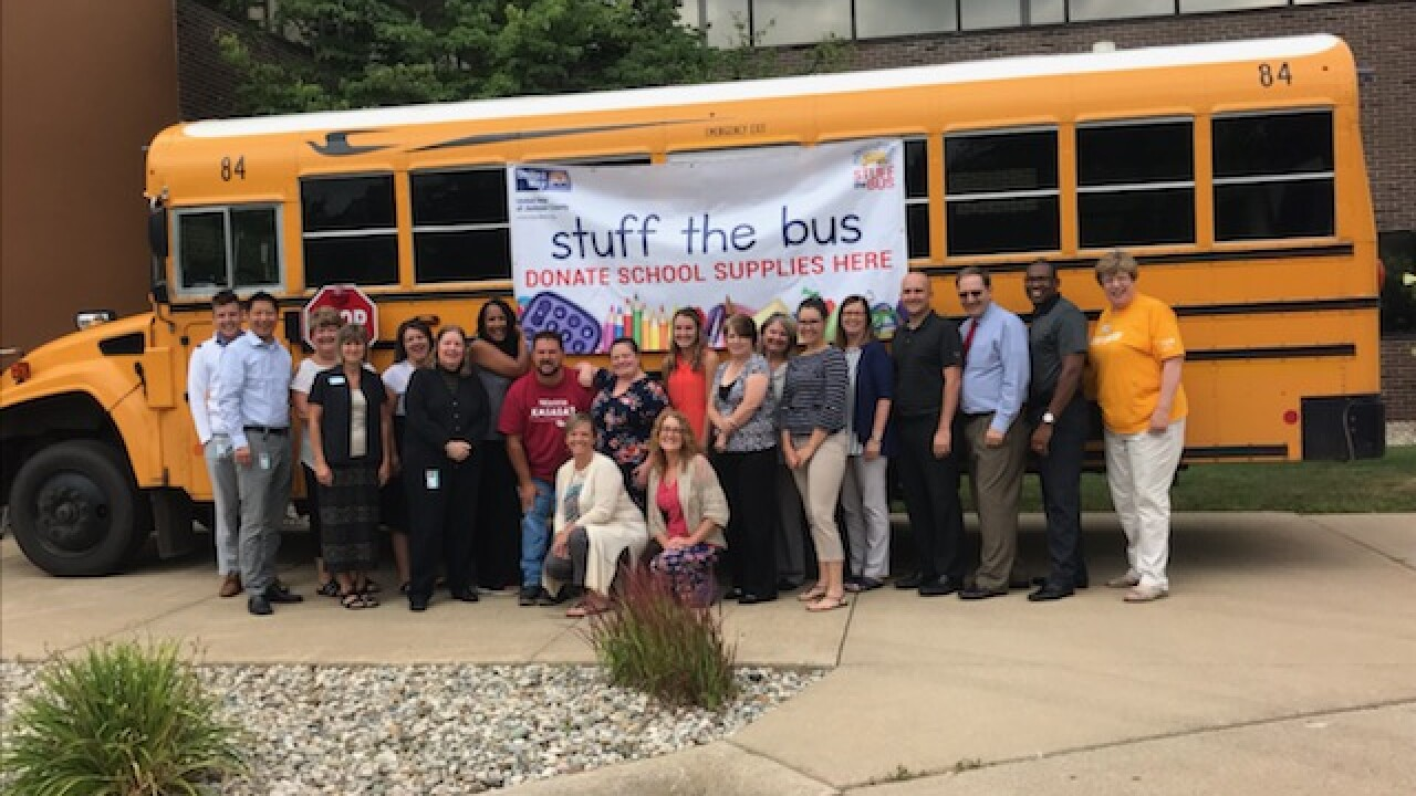 Jackson County Jumps Aboard United Way's 'Stuff The Bus