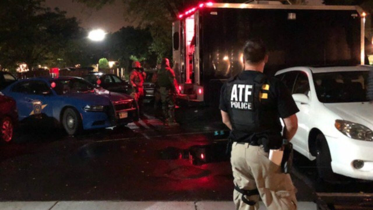 Multiple narcotics seized during ATF raid