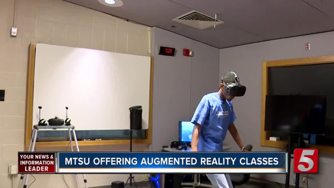 MTSU Adding Courses In Virtual, Augmented Reality