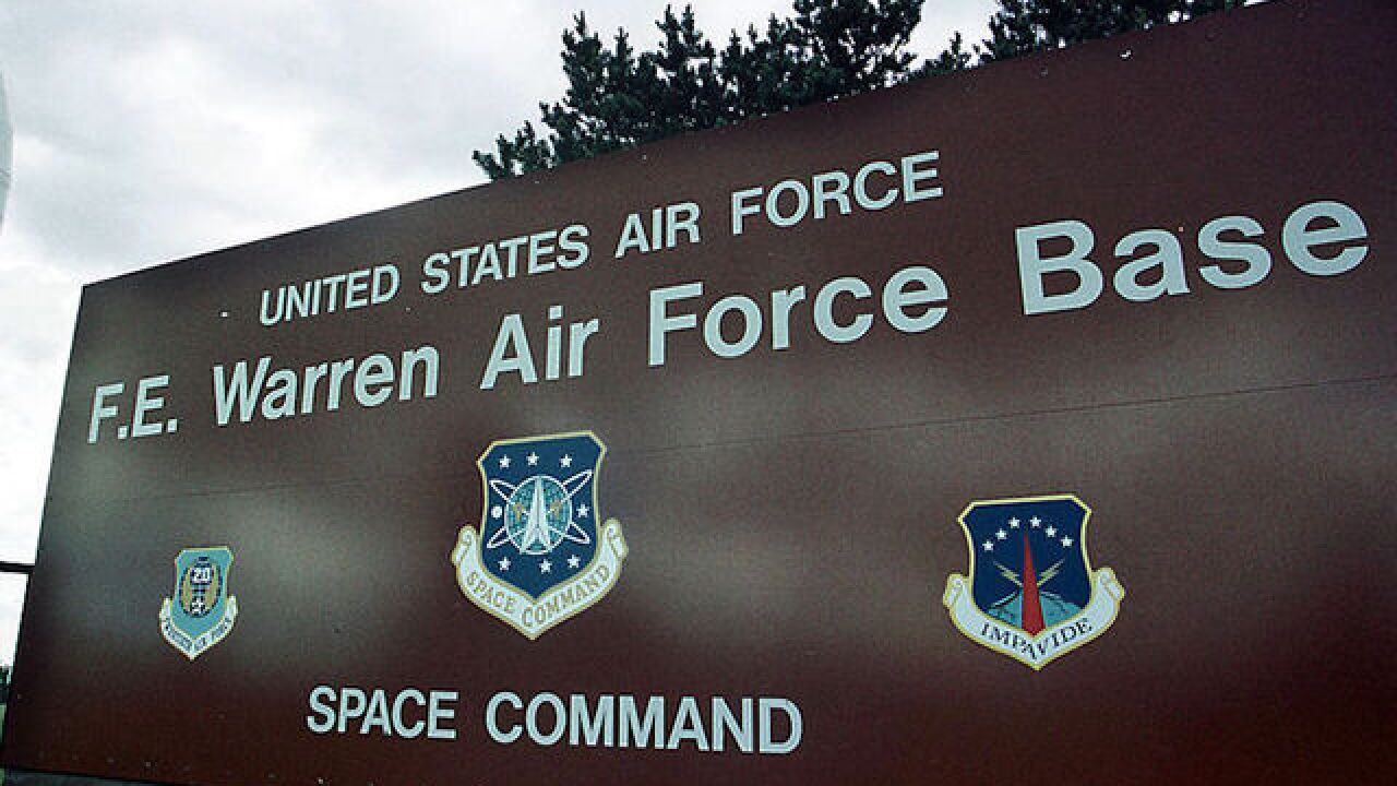 Air Force investigating drug use at nuke base