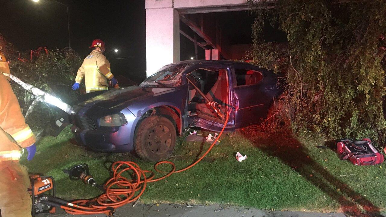 SM CAR CRASH 2