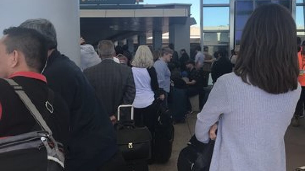 SD airport terminal evacuated after 'incident'