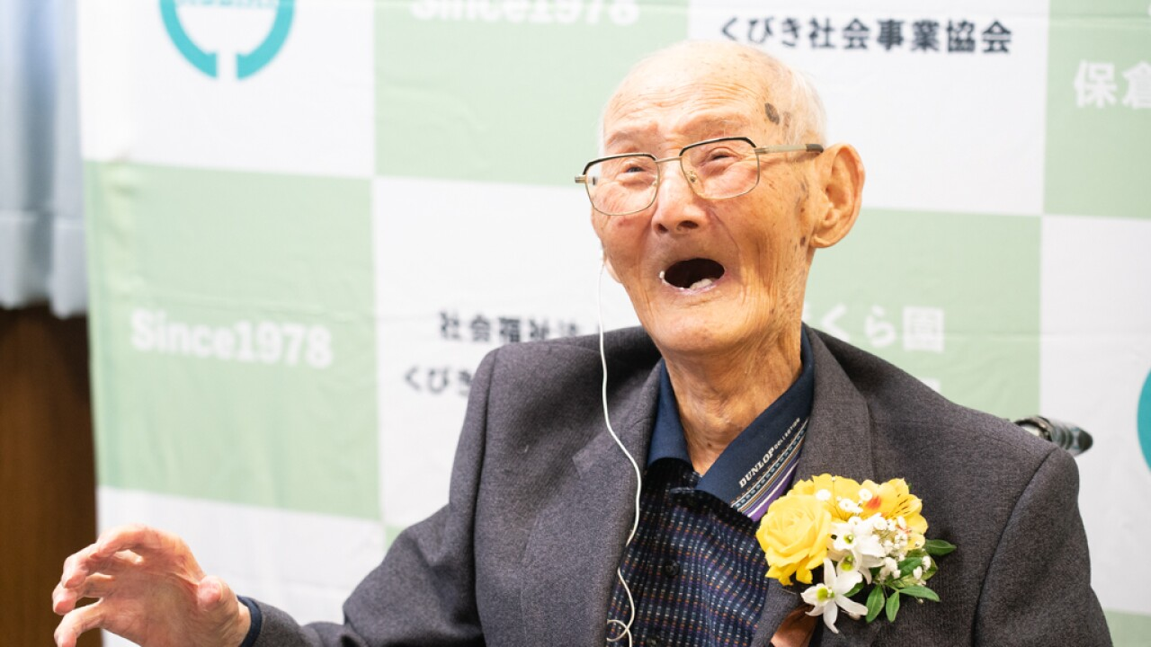 World's oldest man, who said secret to longevity was smiling, dies at 112