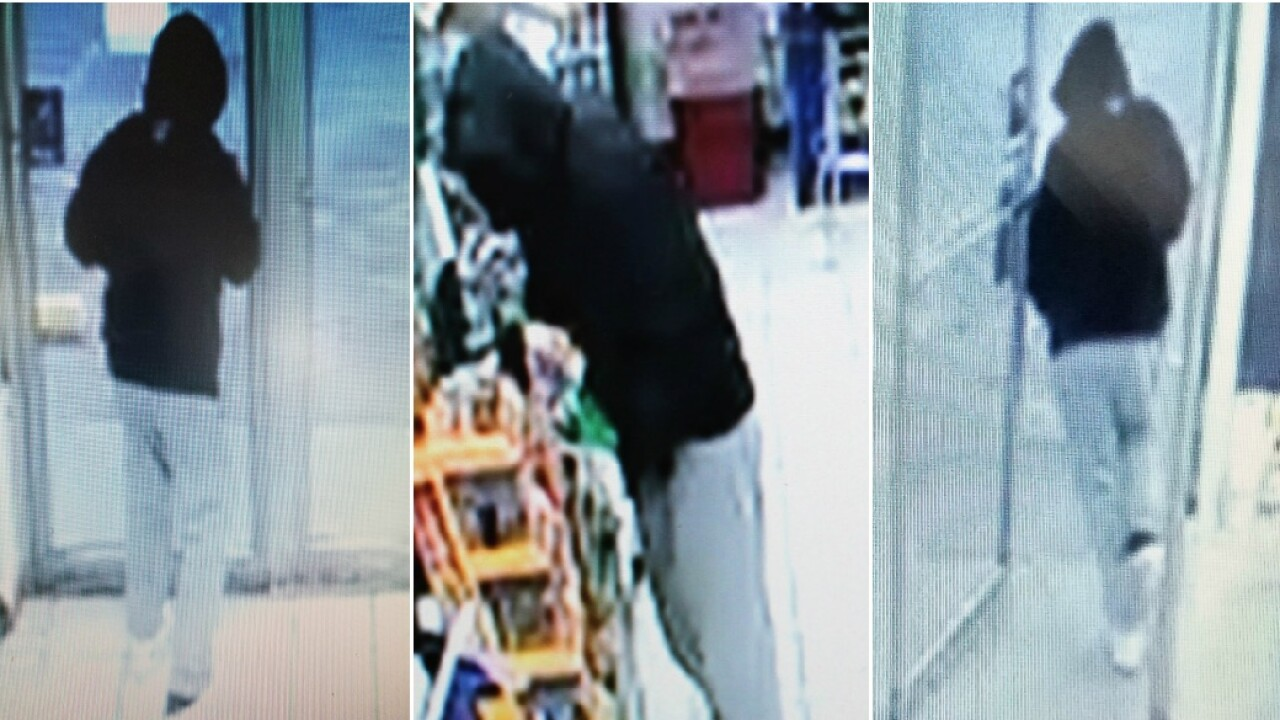 Deputies search for Hanover robberysuspect